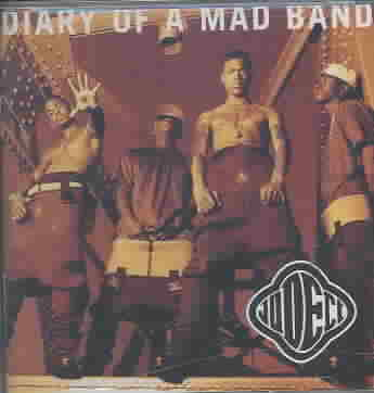 DIARY OF A MAD BAND BY JODECI (CD)