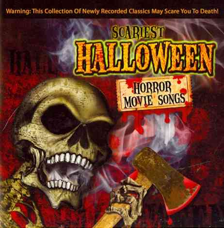 SCARIEST HALLOWEEN HORROR MOVIE SONGS BY GHOST DOCTORS (CD)